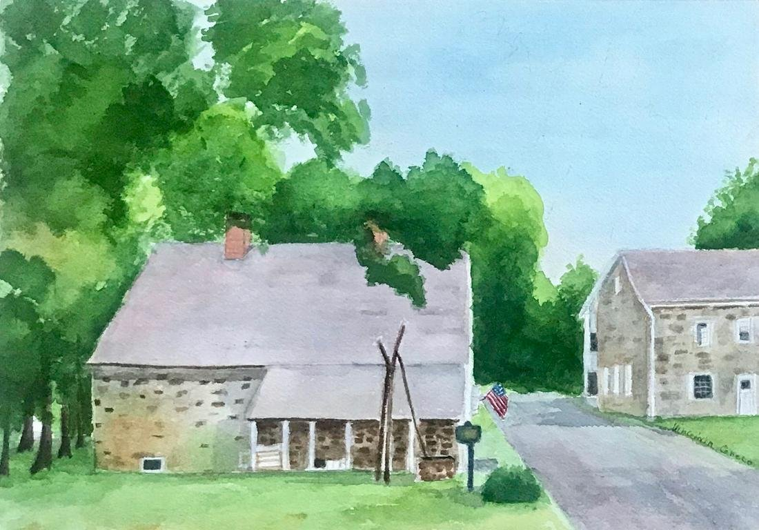 Virginia Greco BEVIER STONE HOUSE, New Paltz