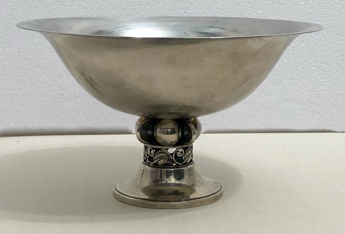Durham Silver Co. Sterling Silver Center Bowl, N.Y 1950