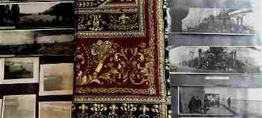 Turn of the Century Original Photo Travel Journal Album