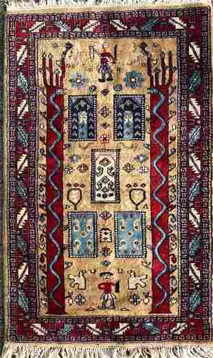 HandWoven Persian Tribal Wool Rug