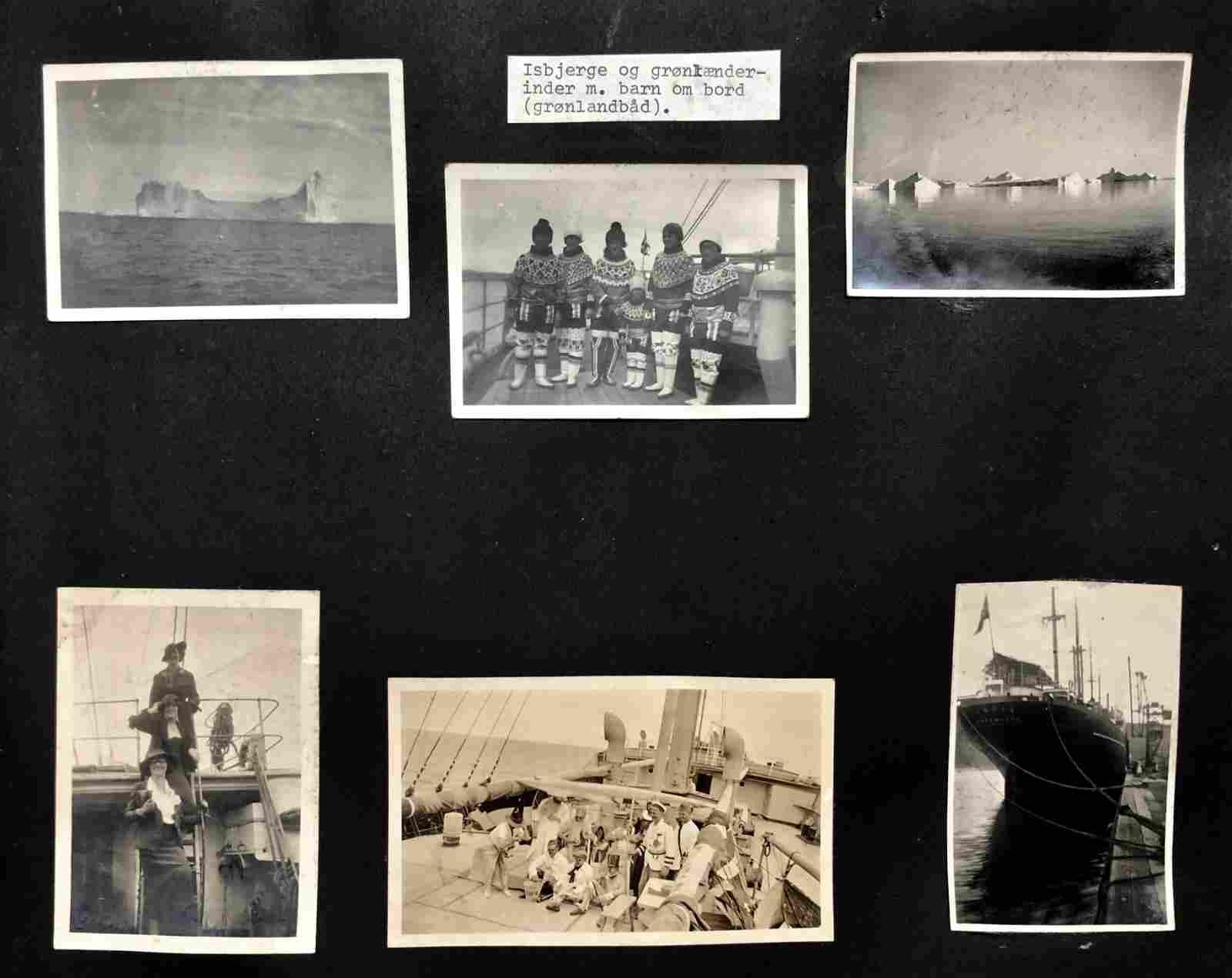 Original Photo Album SAILORS WORLD JOURNEY 1930s (150+)