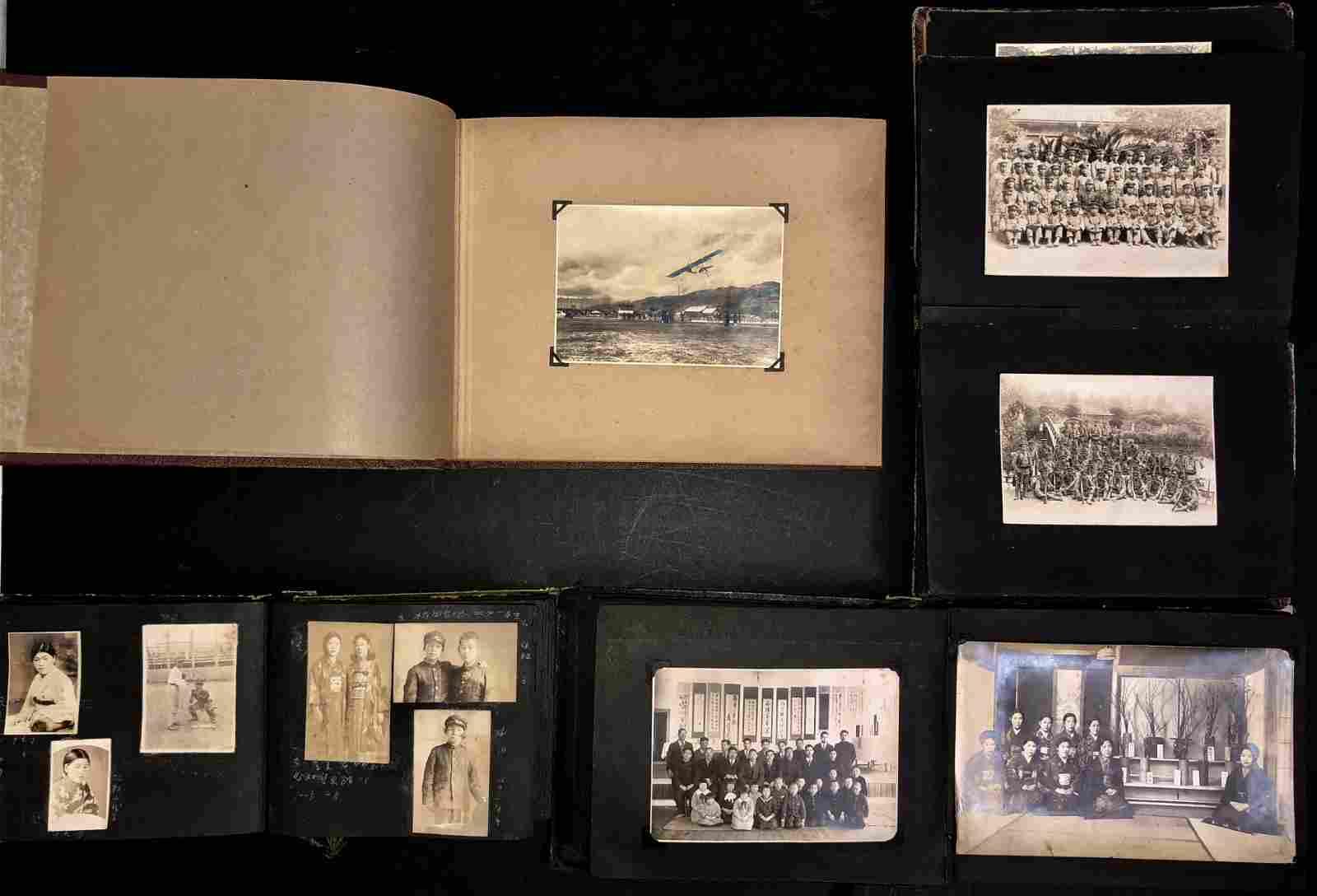 Four Original Photo Albums JAPAN 1930-40s  (400+)