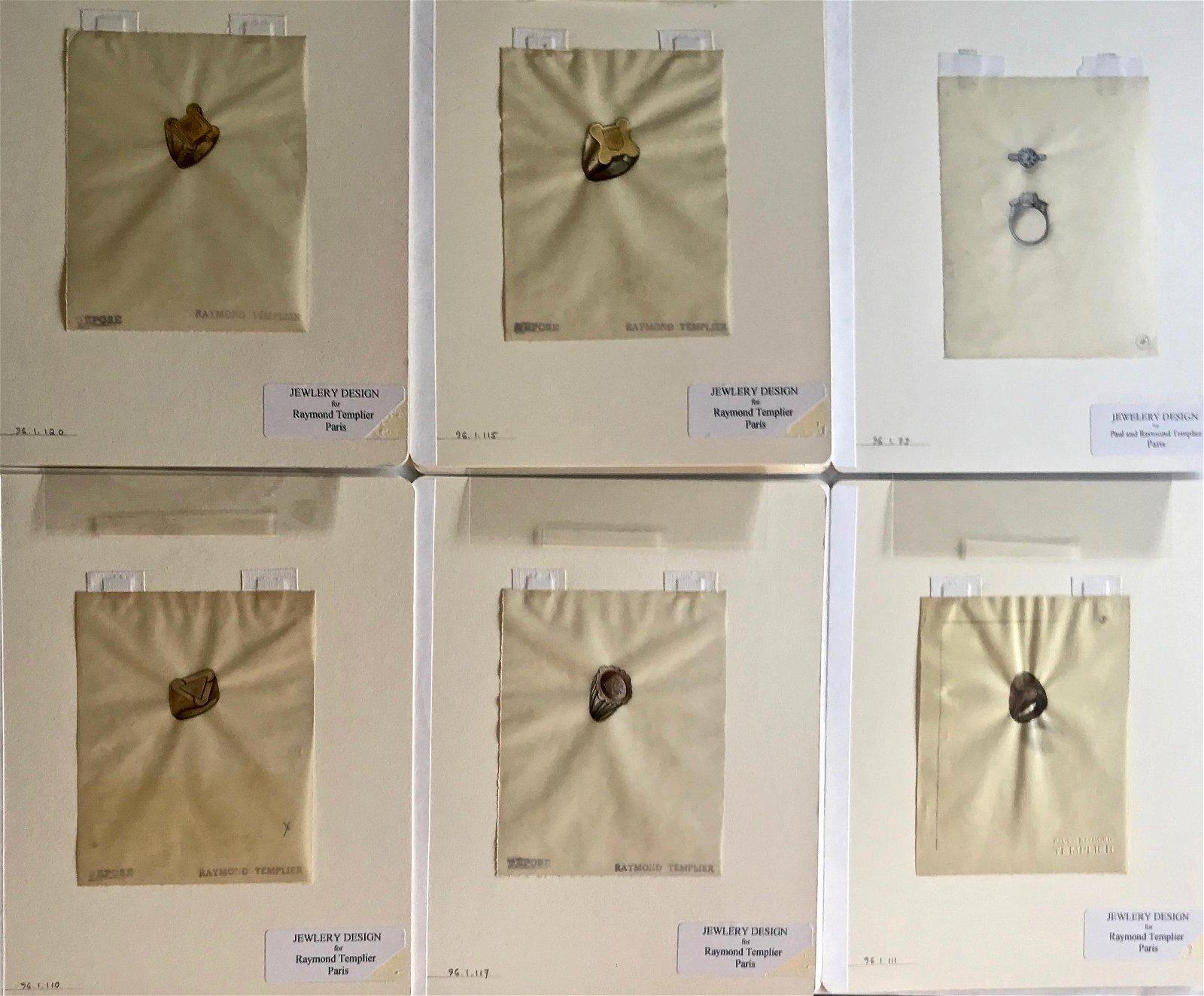 Raymond Templier Original Art Deco Jewelry Designs (6)
