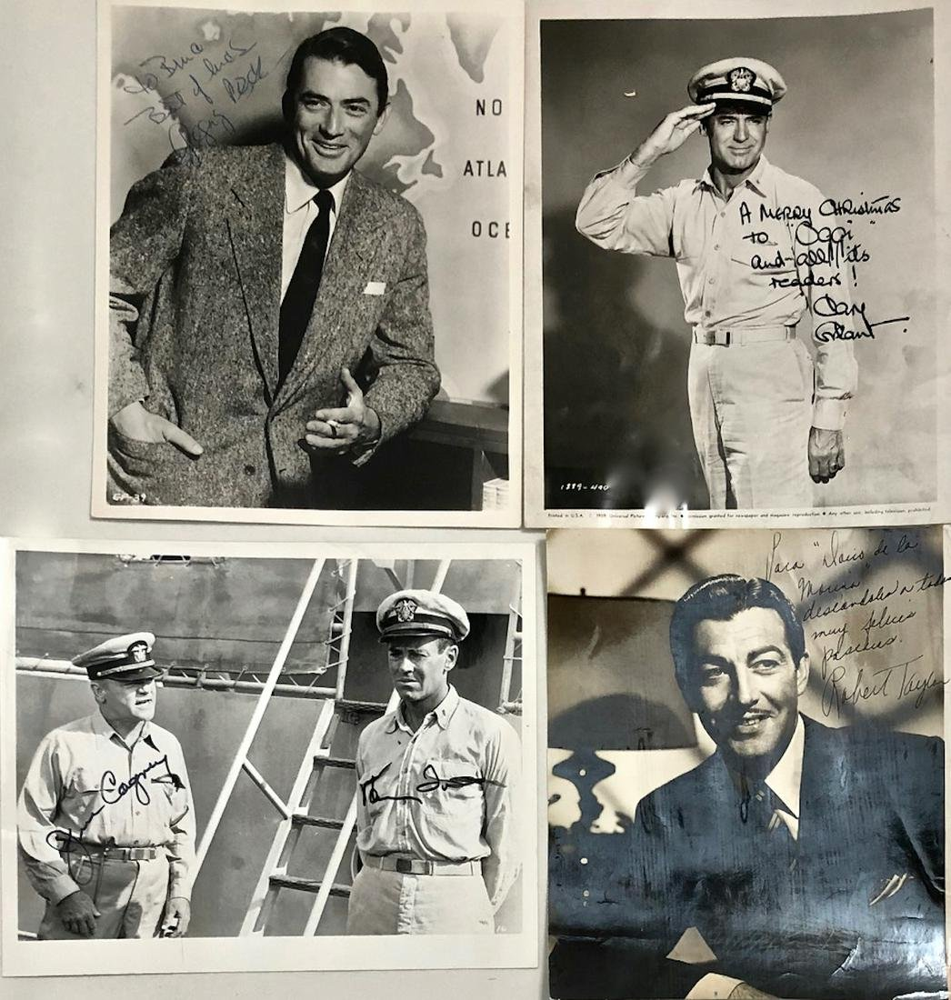 Hollywood  Film Actors Inscribed & Signed Photographs
