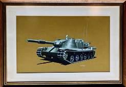 RTerrell  Original Military Combat Vehicle Painting