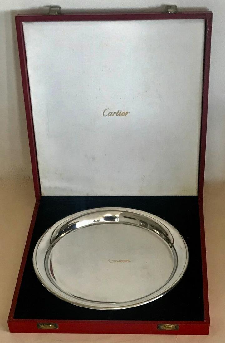 Cartier Serving Tray With Original Presentation Box