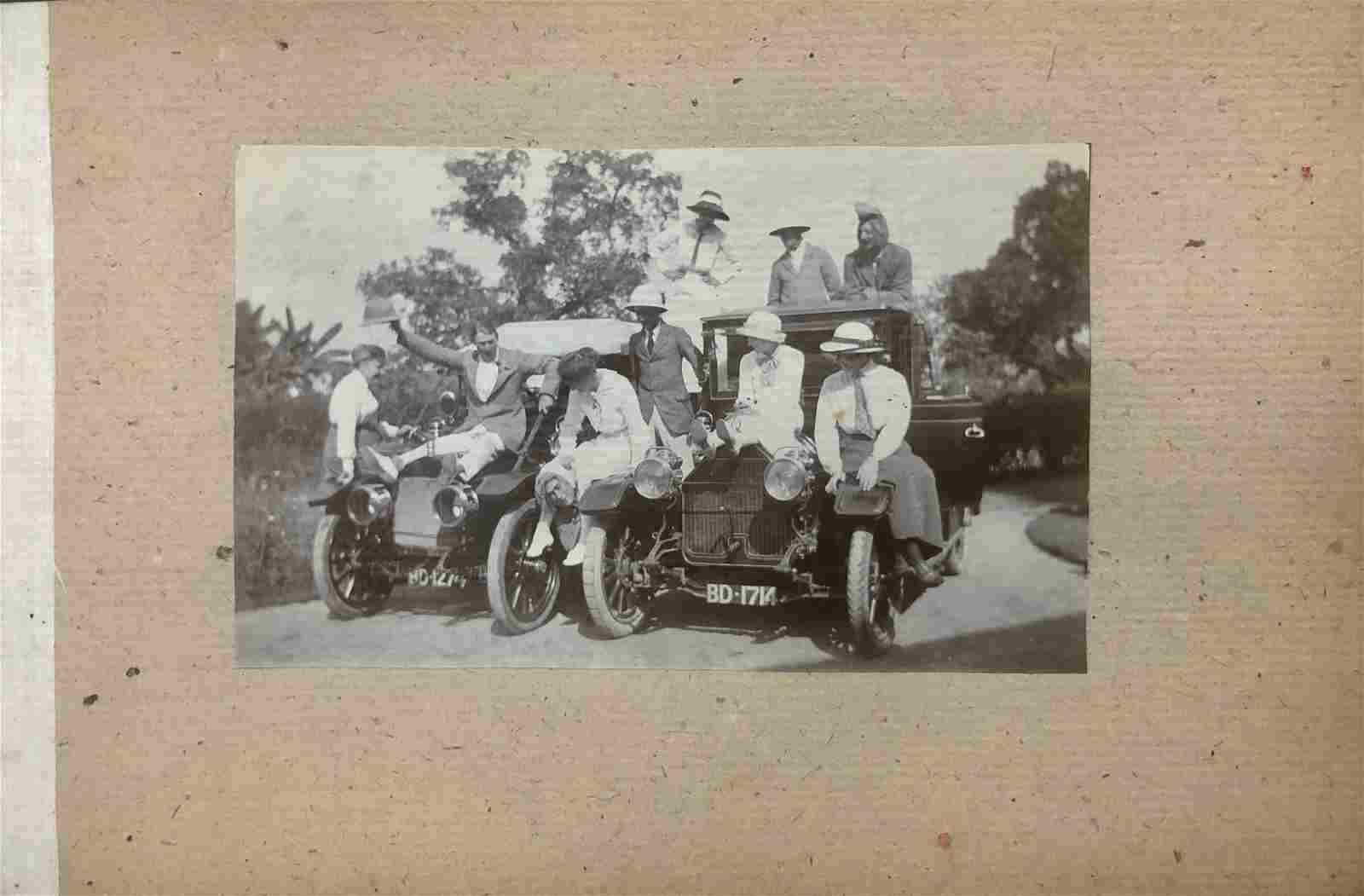 British Colonists Silver Gelatin Photo Album, India