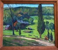 Carl Ringius (American, 1879-1950) Landscape Painting