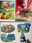 TRAVELS OF A FOX Storyboard Paintings Eric Kincaid 1976