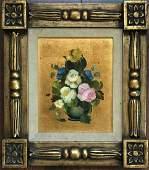 Italian Floral Still Life Painting, R. Rossini c.1950s