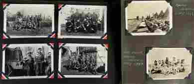 WW2 Soldiers Photo Albums Middle East Africa Europe