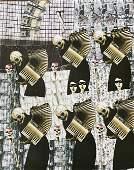 Karl Mann Artist Bound Book of Original Collages Unique