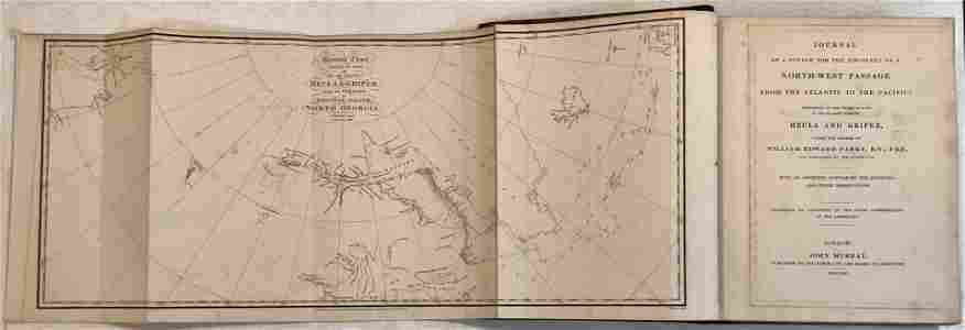 ARCTIC: PARRY'S FIRST VOYAGE, W/ MAPS, 1821