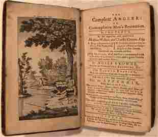 The Compleat Angler  Izaak Walton & Charles Cotton 1772
