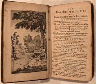 The Compleat Angler  Izaak Walton & Charles Cotton 1772