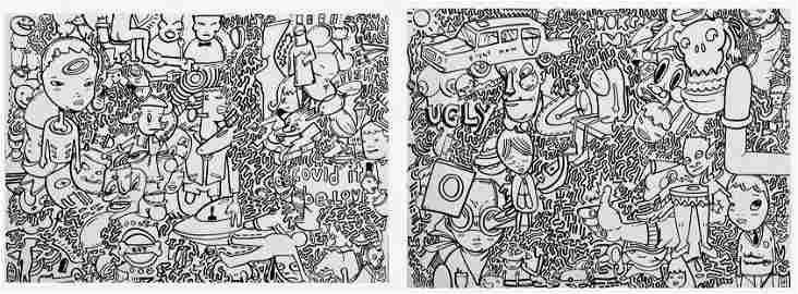 Hebru Brantley Urban Graffiti Painting FLYBOY
