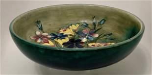 William Moorcroft SPRING FLOWERS  Fruit Bowl, 1936