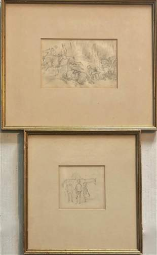 John Leech  (British,1817-1864) Published Drawings