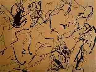 Judith Lindbloom (American, 1933-2016) Abstract, 1957