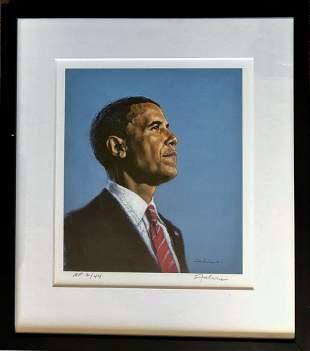 Barack Obama ACCEPTANCE Tony Falcone W/COA