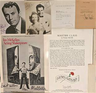 Collection of Autographs Photographs & Letters (85+)