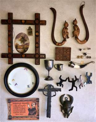 Eclectic Collection of Antiques & Collectibles
