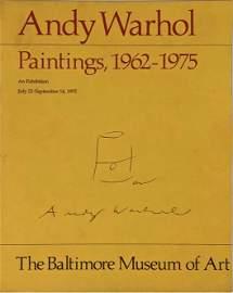 Andy Warhol Original Soup Can Drawing & Signature, 1975