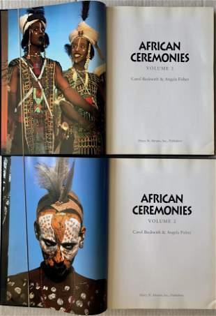African Ceremonies: BIRTH, ROYALTY & POWER-2 Volumes