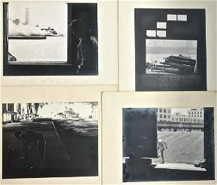 JACK DOWLING Greenwich Village Pier, Photos N.Y 1974