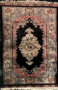 Semi-Antique Handwoven Persian Rug: 3 ft. x 4 ft.