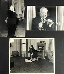Alfred Hitchcock Group of Silver Gelatin Photographs