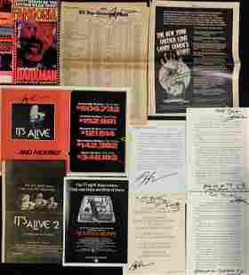 IT'S ALIVE Horror Cult Film Memorabilia LARRY COHEN