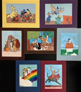 Studio Animation Production Cells, Martha Sigall