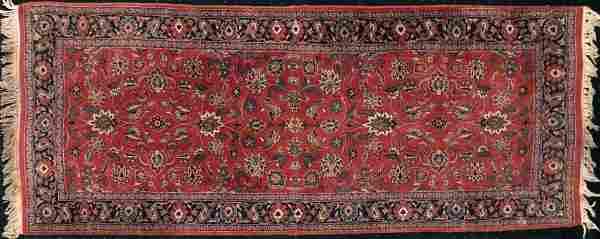 Semi-Antique Persian Handwoven Runner Rug