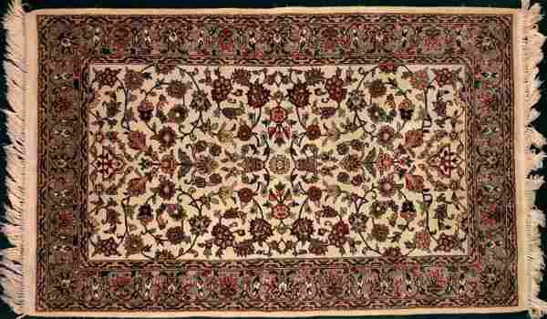 Estate Semi-Antique Handwoven Persian Rug 5ft. x 3ft.