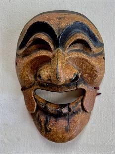 Traditional Korean Folk Art Hahoe Mask