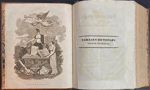 Barclay's Complete & Universal English Dictionary, 1833