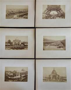 1889 Exposition Universelle World's Fair Albumen Prints
