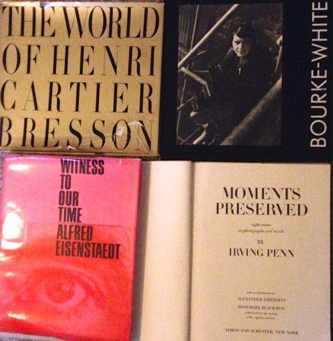 Collection of Photography Books (4)