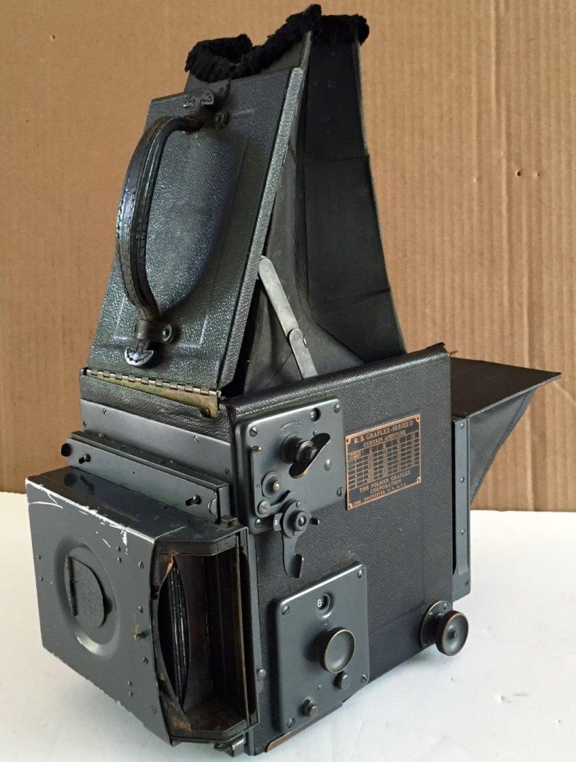 R. B. Grayflex Series D, Curtain Aperture Camera, Zeiss