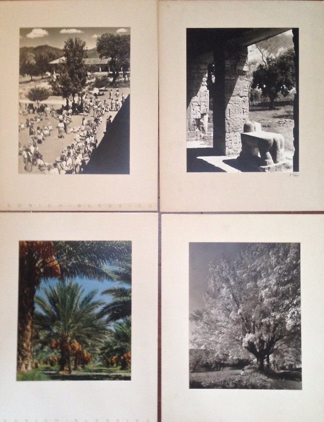 (4) Hedrick Blessing Original Photographs