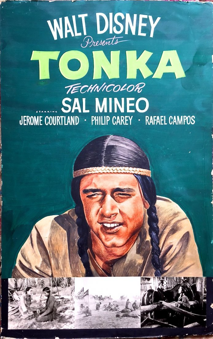 1958 Cinema Painting:John J. Lomasney (Irish 1899-1989)