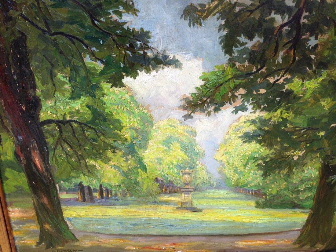Kurt Hauschmann( Kurt Hutton) Landscape Painting 1930's