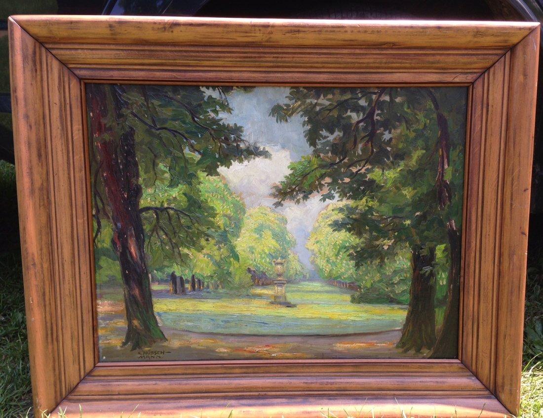 Kurt Hauschmann( Kurt Hutton) Landscape Painting 1930's - 2