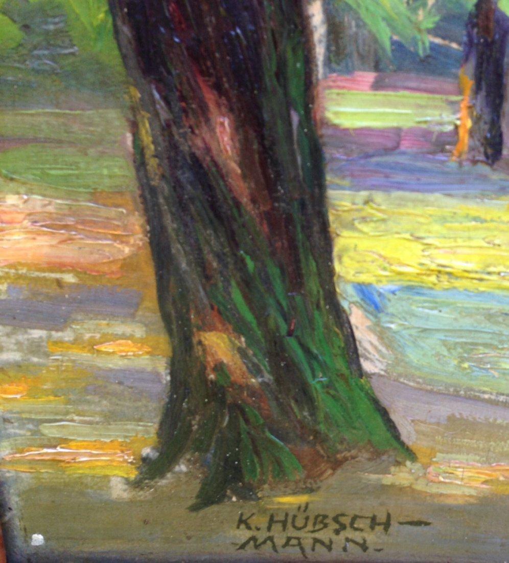 Kurt Hauschmann( Kurt Hutton) Landscape Painting 1930's - 3