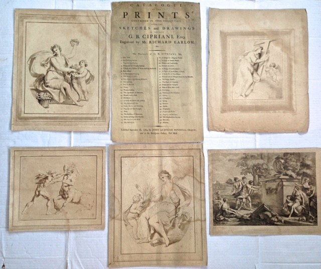 Five Continental Old Master Engravings