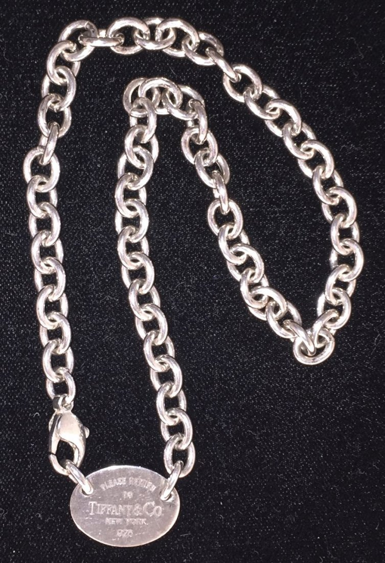 Tiffany & Co. Chain Necklace With Pendant