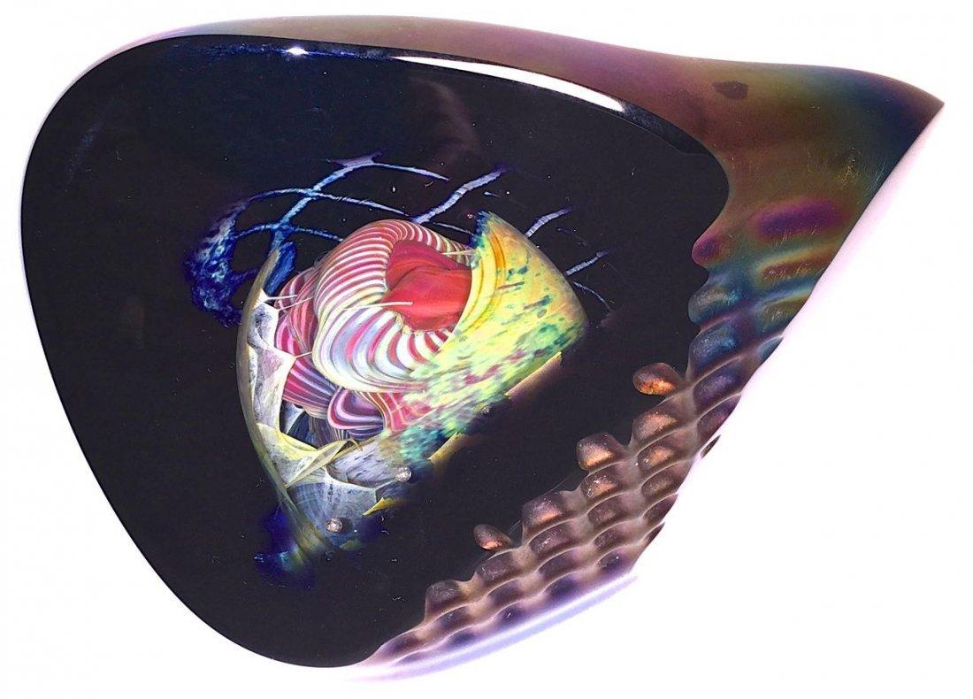 Henry Summa Studio Art Glass Sculpture