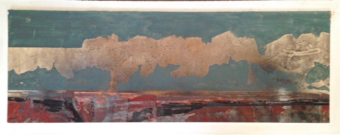 Southwestern Landscape painting, Stanton Englehart
