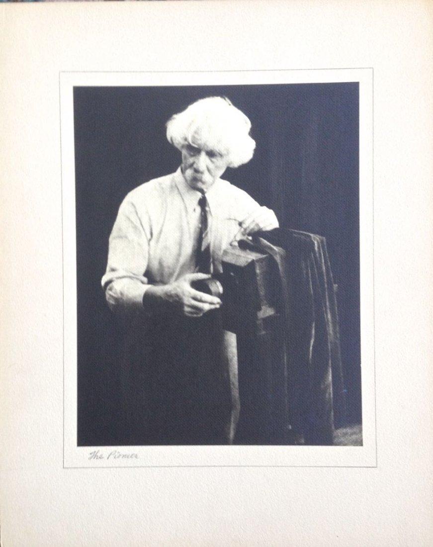 "Alfred Stieglitz Photograph ""The Pioneer"", Bogardus"